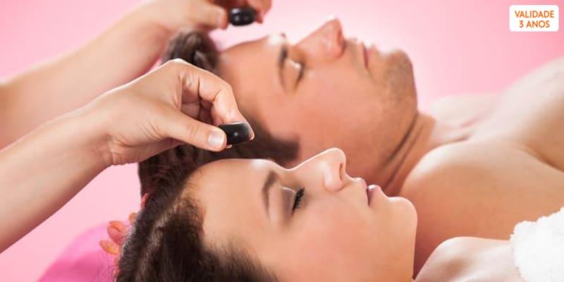 Massagem Sensorial + Ritual Espumante & Frutos | 2 Pessoas | Matosinhos