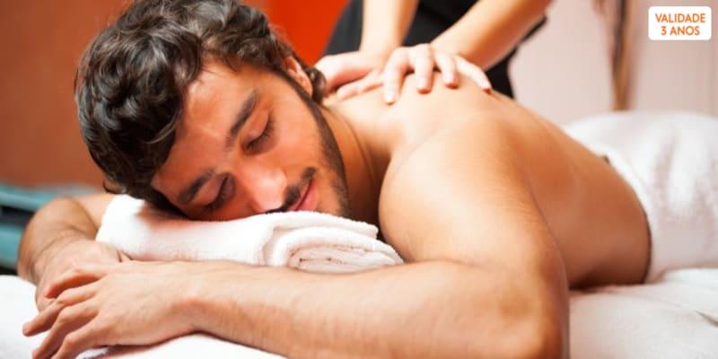 Surpresa para Ele: Massagem Árabe + Chá Marroquino   1 Hora   Porto