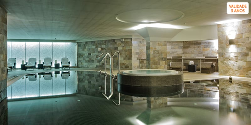 Porto Palácio Spa 5*   Circuito Terapêutico Aqua Sensations & Massagem   1 ou 2 Pessoas