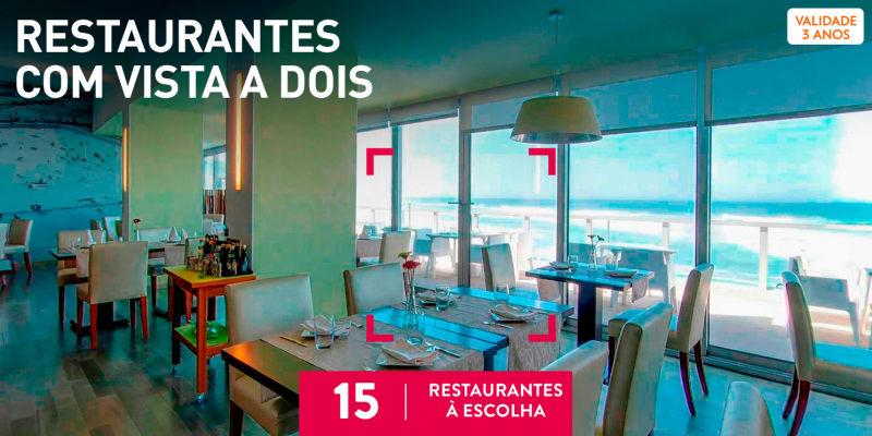 Restaurantes com Vista a Dois | 20 Restaurantes à Escolha
