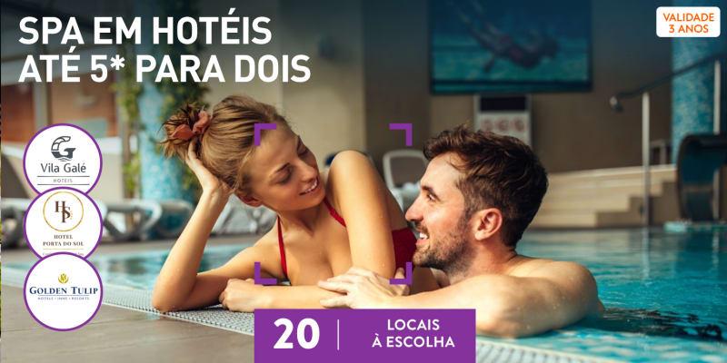 SPAs de Hotel para Dois   Circuito + Massagem ou Tratamento   20 Locais à Escolha