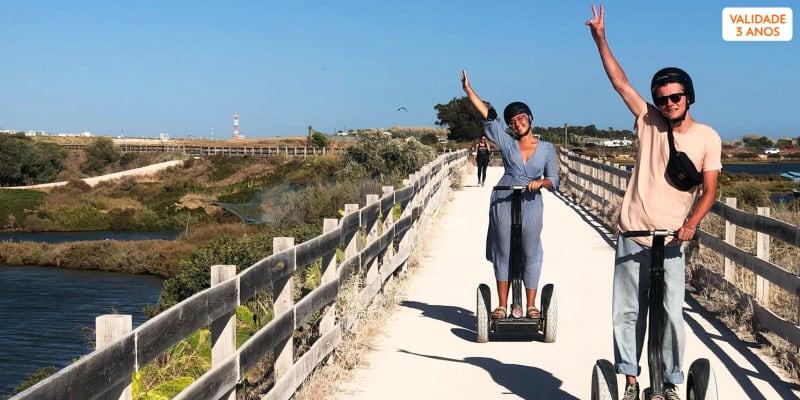 Passeio de Segway pela Cidade de Faro - 1 Hora   1 ou 2 Pessoas   AlgarveBySegway