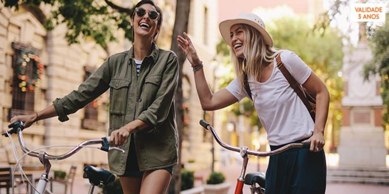 Aluguer de Bicicleta Eléctrica em Aveiro | 6 Horas para 2 Pessoas