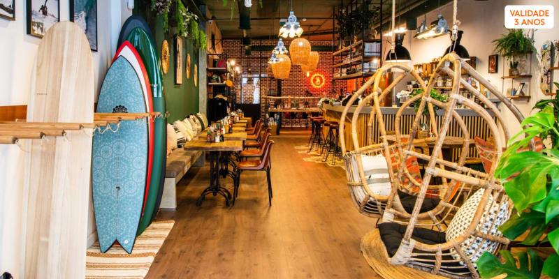 Brunch na Primeira Surf Shop & Café de Lisboa! Boutik - São Bento