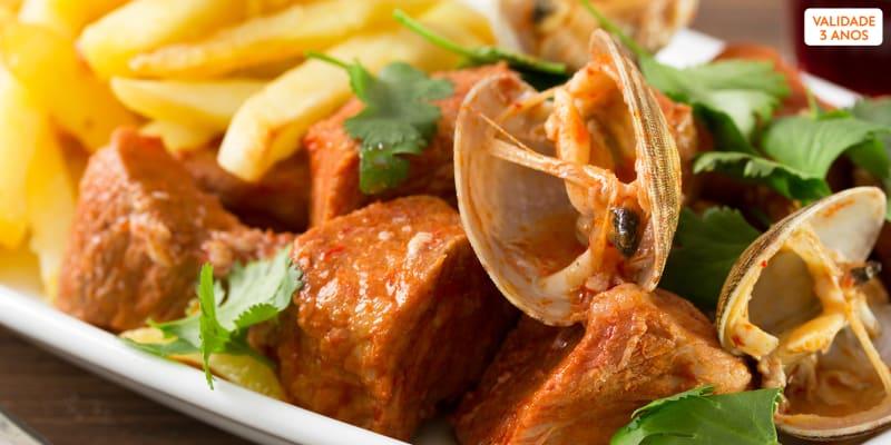 Jantar Completo com Sabores Tradicionais Alentejanos para Dois   Restaurante O Tarro - Odemira