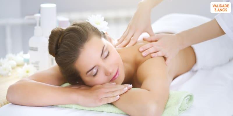 Esfoliação do Mar Morto ou Massagem c/ Aromaterapia   Clínica do Terço - Porto