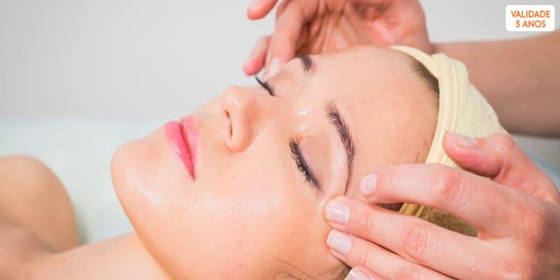Spa Facial Completo c/ Opção Micro Facial ou Peeling   Clínica do Terço - Porto