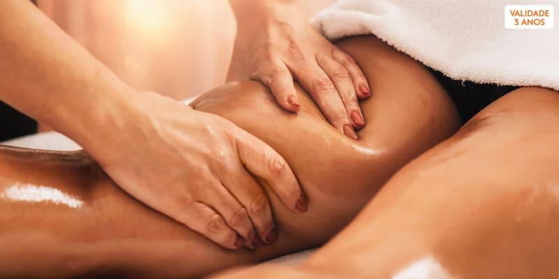 1 ou 3 Sessões de Massagem à Escolha até 1H - Relaxamento, Reflexologia, Drenagem ou Modeladora   Lisboa