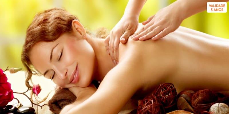 Momento Relaxante! Massagem à Escolha - 1H | Av. 5 Outubro