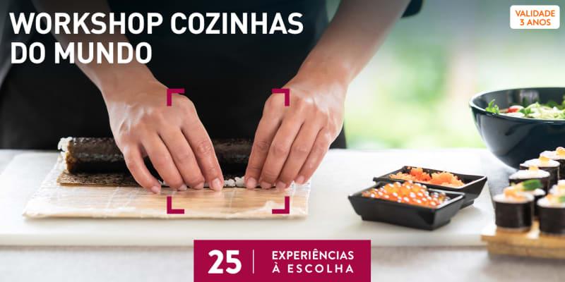 Workshops Cozinhas do Mundo | 25 Experiências à Escolha