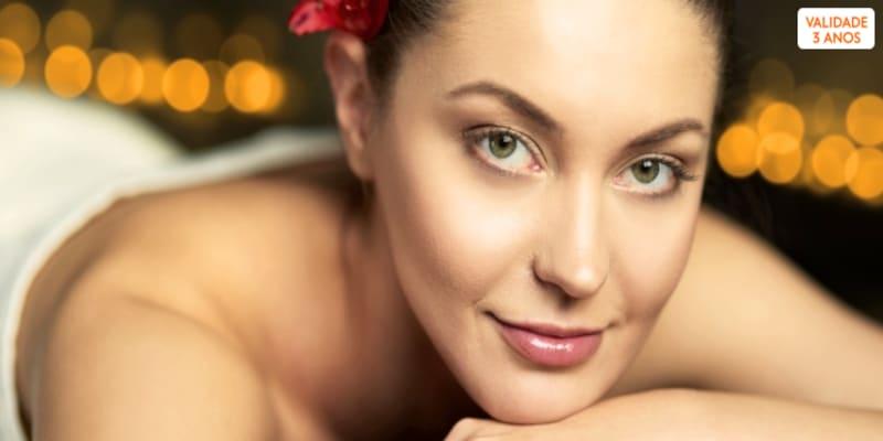 Elixir de Beleza! Massagem Relax Localizada & Mini Facial | 1h30 | Benfica