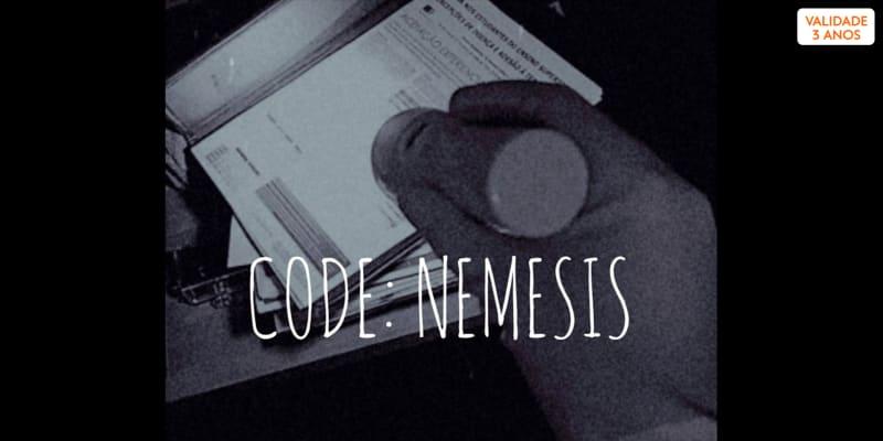 Escape Game «Code: Nemesis» - 2 Jogadores   Halocare Escape Game - Lisboa