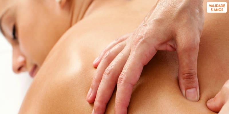 Osteopatia | 1 ou 3 Sessões de Bem-Estar e Equilíbrio | 2 Locais