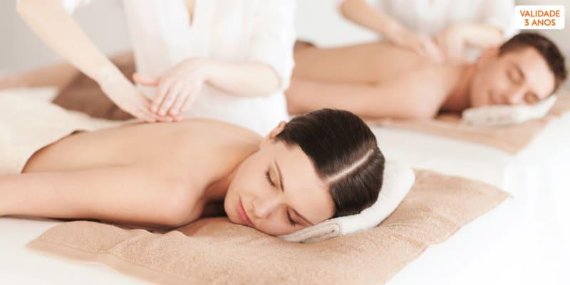 Massagem de Relaxamento a Dois e Ritual de Chá   Laranjeiras