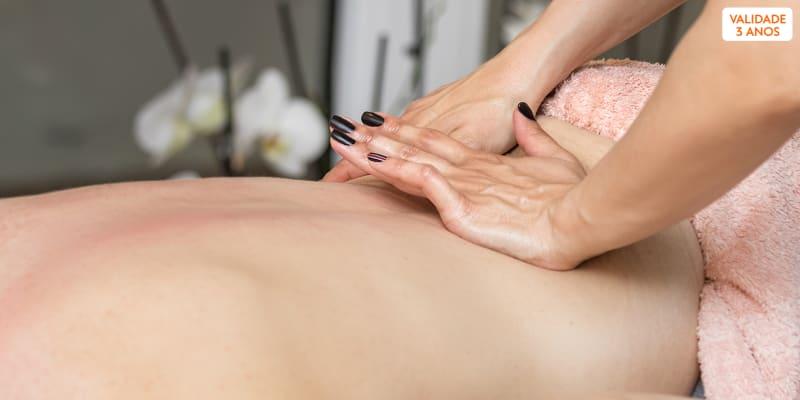 Ritual Anti-Stress! Massagem Relax de Corpo e Rosto + Hidratação Facial Profunda - 1h | Corroios