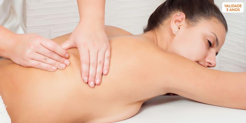 Massagem à Escolha - Redutora, Costas, Pés ou Cabeça | Miltyl Aesthetic - Amadora