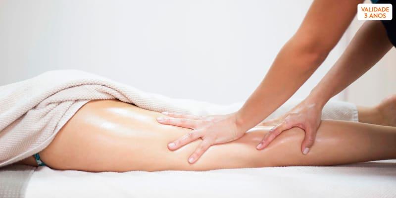 4 Sessões de Massagem Anticelulítica ou Modeladora   30 Minutos   Almada