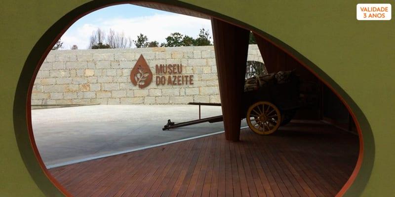 Visita ao Museu do Azeite   2 Adultos + 1 Criança   Oliveira do Hospital