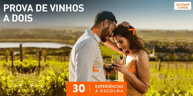 Prova de Vinhos a Dois | 30 Experiências à Escolha