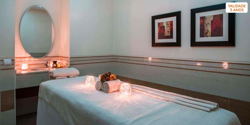 Massagem + Circuito + Ritual de Chá | 1h30 | 2 Spa Satsanga Vila Galé