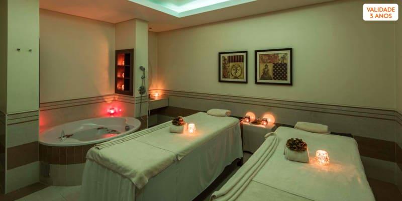 Especial para Dois: Massagem + Circuito + Ritual Chá | 3 Spa Satsanga Vila Galé
