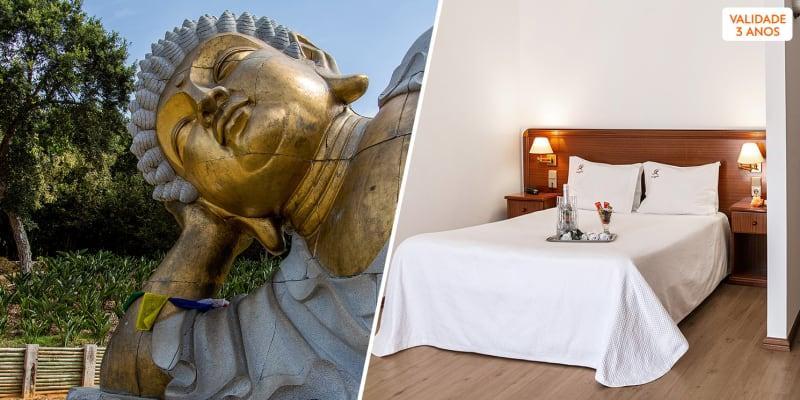 Hotel Comendador - Bombarral | Escapadinha com Entradas no Buddha Eden