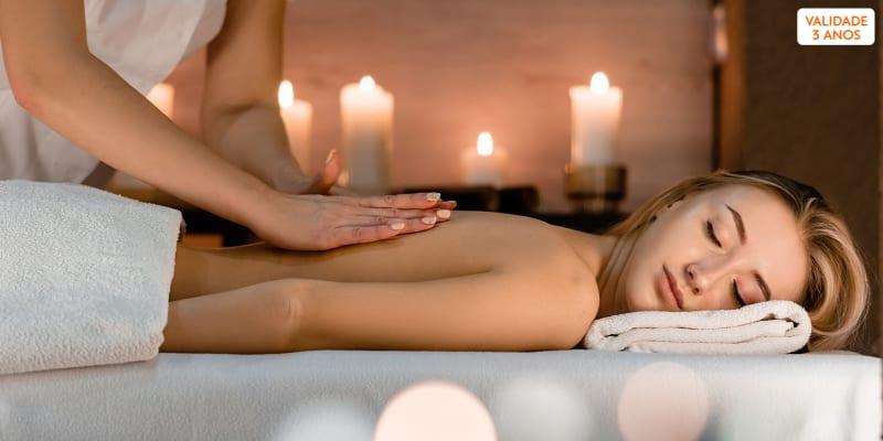 Momento Único! 3 ou 6 Sessões de Massagens Relax com Óleos Essenciais | Saldanha