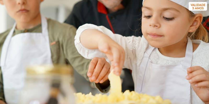 Workshop de Cozinha Para e Feita por Crianças - Até 3 Horas | Table5Store - Setúbal
