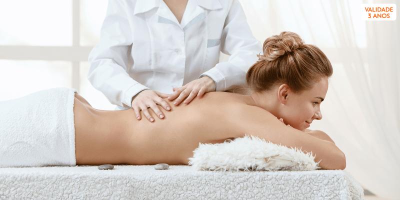 4 Sessões Drenagem Linfática, Massagem Relax ou Modeladora | Sementes dAmor - Cascais