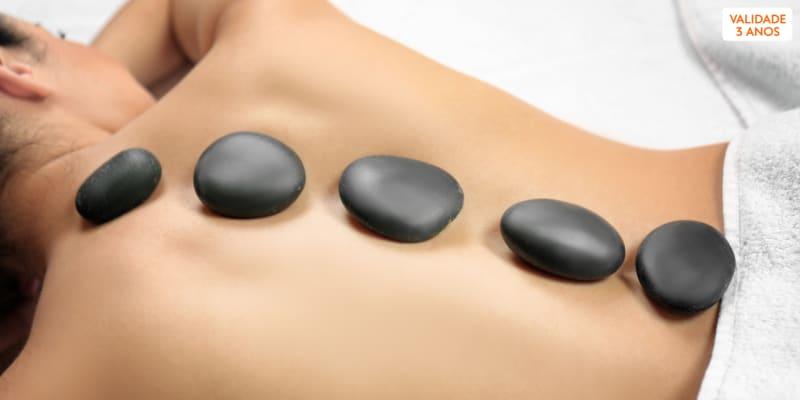 O Seu Momento: Massagem de Relaxamento ou Pedras Quentes   Queluz