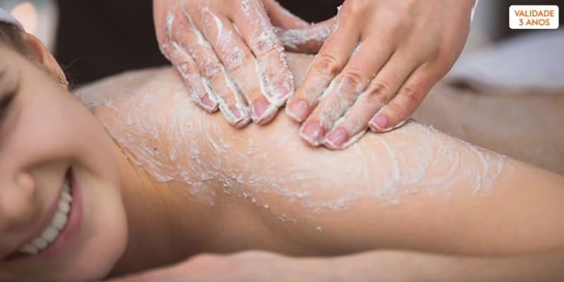 Miminhos para o Corpo: Esfoliação + Envolvimento + Massagem | 2 Horas | Sintra