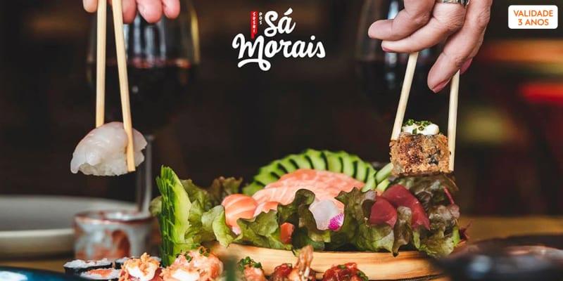 Sushi dos Sá Morais   Entradas + Combinado Heroi Xima de 32 Peças para Dois   Marquês de Pombal