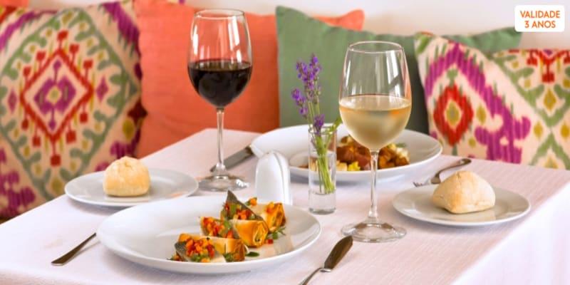 Requinte à Mesa no Restaurante & Bar Cardo para Dois   Évora
