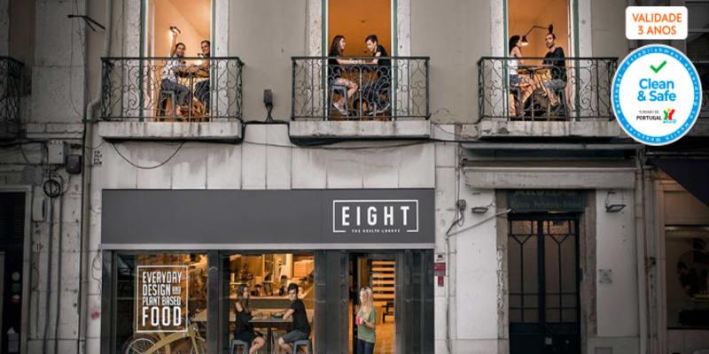 Petiscos Vegan e Saudáveis a Dois   Sem Reserva   Eight The Health Lounge - Lisboa