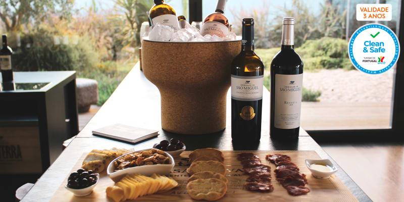 Visita à Quinta & Prova de Vinhos no Alentejo   1 ou 2 Pessoas   Casa Relvas