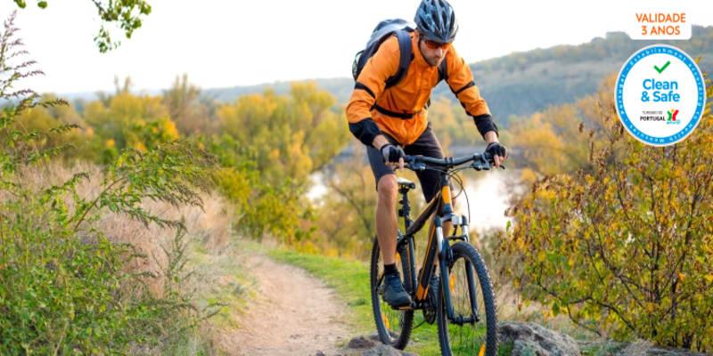 Passeio de Bicicleta em Sintra e Cascais   Auto-Guiado com GPS + Kit de Reparação   8h