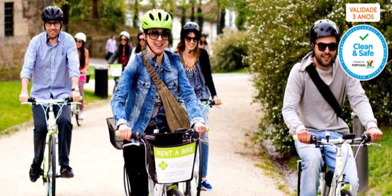 Conheça a Cidade-Berço em Bicicleta Eléctrica a Dois | Guimarães