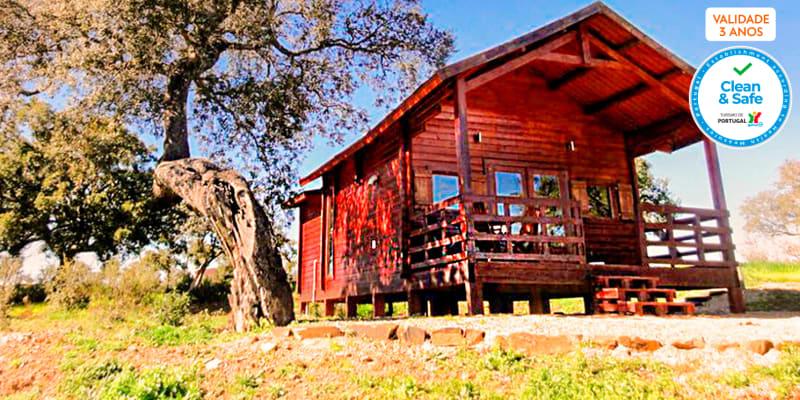 Monte Gois Country House & Spa   Noites em Bungalow no Alentejo com Opção Jantar