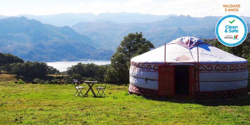 Nomad Planet - Montalegre   Estadia Insólita em Yurt com Vista para o Gerês