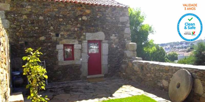 Palheiros do Castelo - Sabugal   Escapadinha no Interior com Vista Castelo