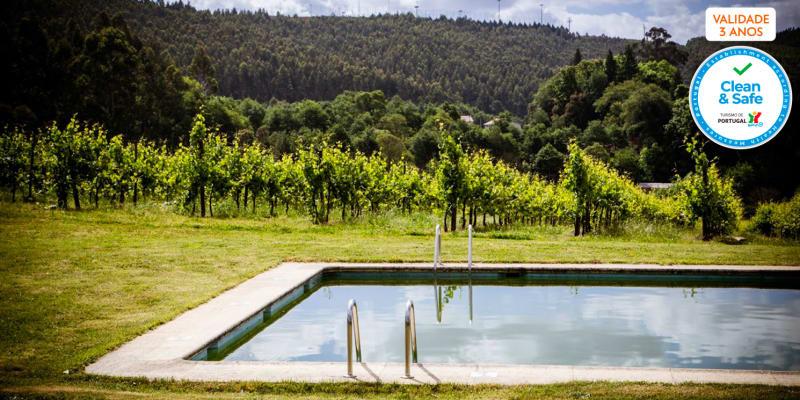 Quinta de Lourosa - Lousada | Estadia com Prova de Vinhos & Opção de Almoço Vínico