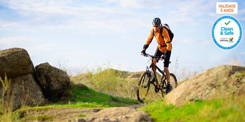 Dia de Passeio de Bicicleta em Autonomia no Algarve | Auto-Guiado com GPS + Kit de Reparação