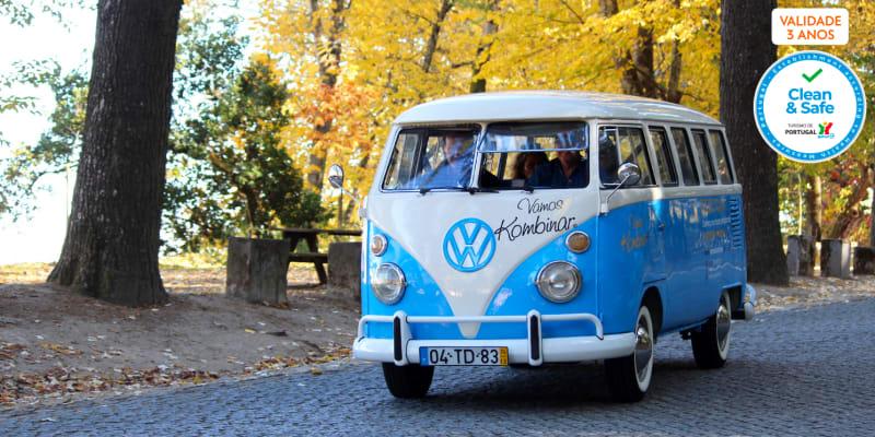 Tour no Alto Douro para Dois em Volkswagen Kombi + Prova de Vinhos   3 Horas Apaixonantes!