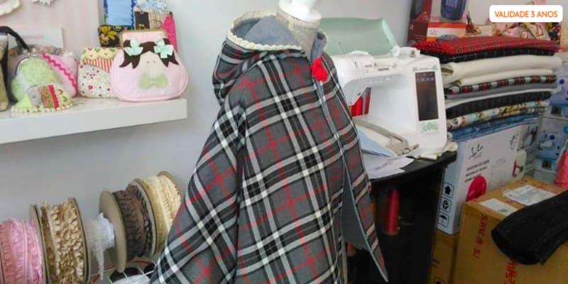 Workshop de Corte e Costura   5h - Alvalade   Criação de Capa de Inverno ou Túnica de Verão!