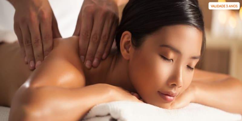 Relaxe: Massagem de Corpo Inteiro   40 Minutos   Moita