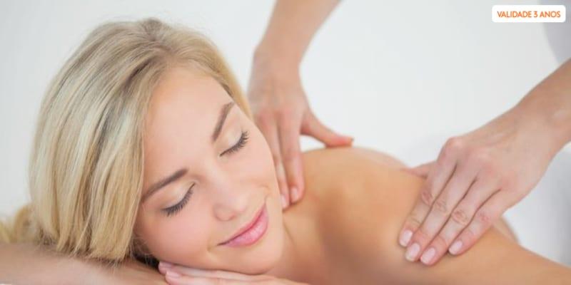 Relax Corpo Inteiro - Massagem 40 Min. | 1 ou 2 Pessoas | Carnide