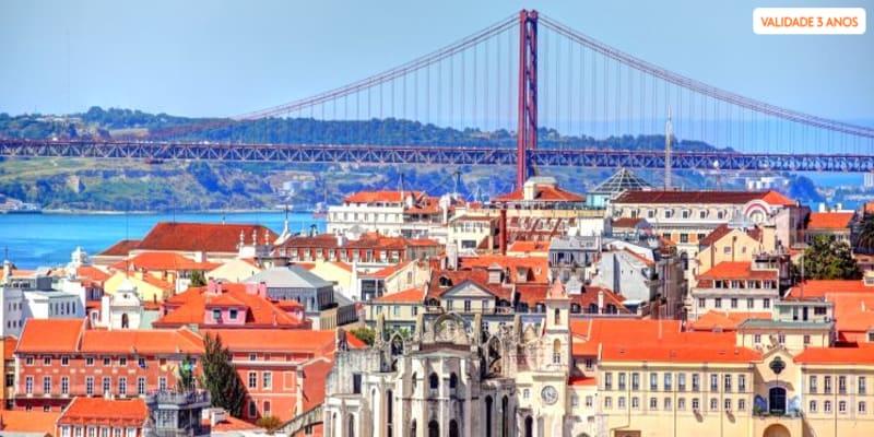 Tour por Lisboa para Dois em Carrinha Premium + Oferta de Pastéis de Belém | 4 Horas