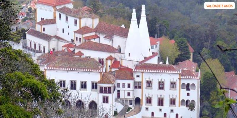 Sintra Encantadora a Dois! Tour em Carrinha + Travesseiro + Opção Visita a Cascais e Estoril   Até 8 Horas