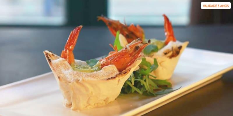 Mezzanine Creative Restaurant   Jantar à Carta para Dois em Santos