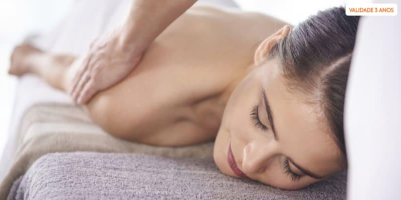 Para Cuidar do Corpo e Espírito! 1 ou 3 Massagens à Escolha | Sintra